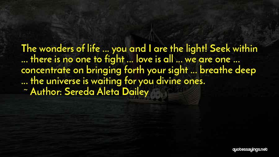 I Breathe Your Love Quotes By Sereda Aleta Dailey