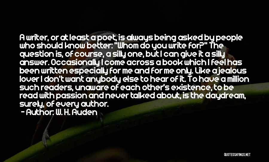 I Can Always Do Better Quotes By W. H. Auden