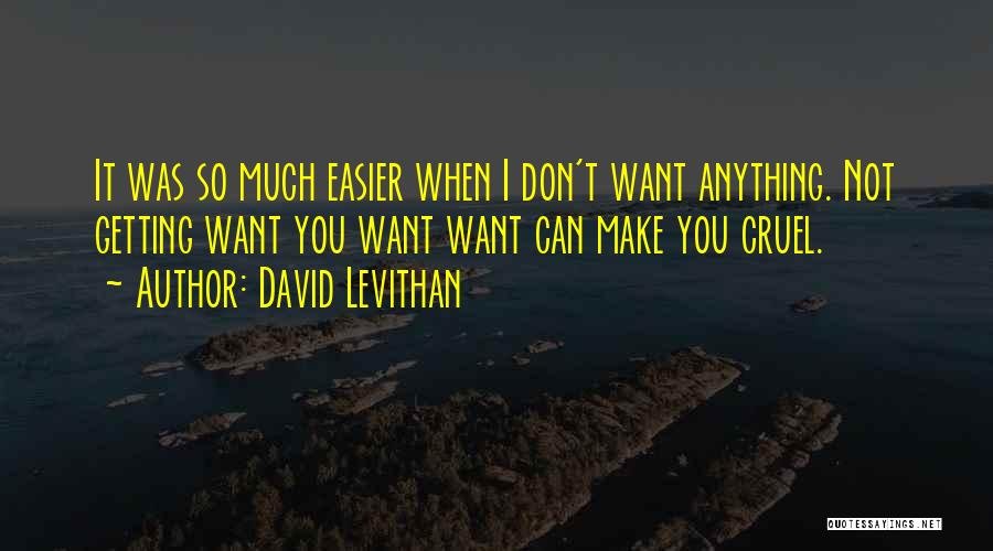 I Can Make Quotes By David Levithan