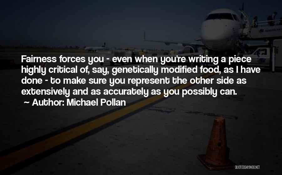 I Can Make Quotes By Michael Pollan