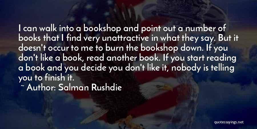 I Can Read You Like A Book Quotes By Salman Rushdie