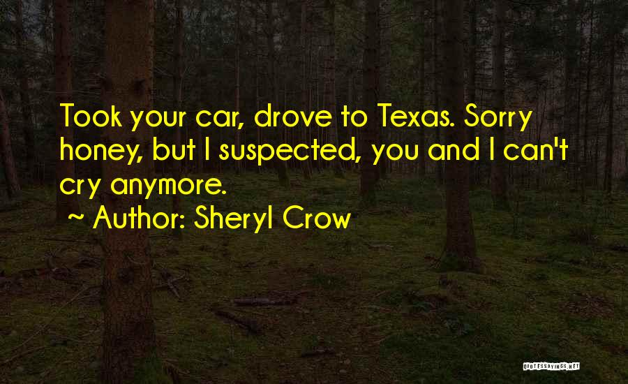 I Can't Cry Anymore Quotes By Sheryl Crow