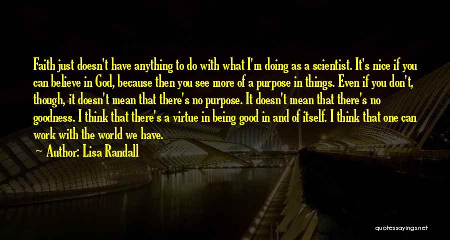 I Can't Do It No More Quotes By Lisa Randall