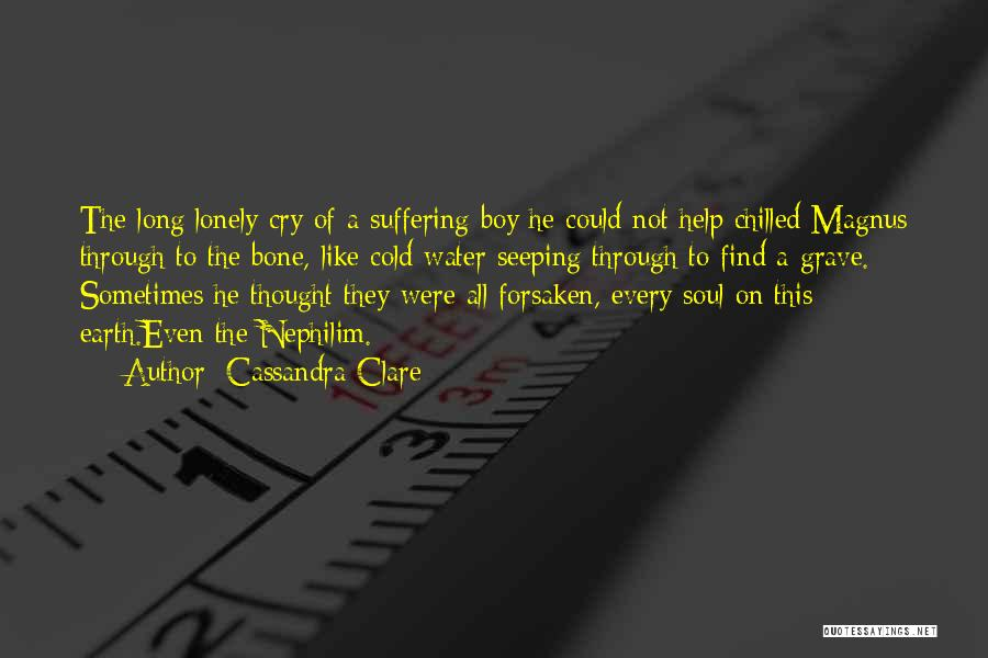 I Can't Help But Cry Quotes By Cassandra Clare