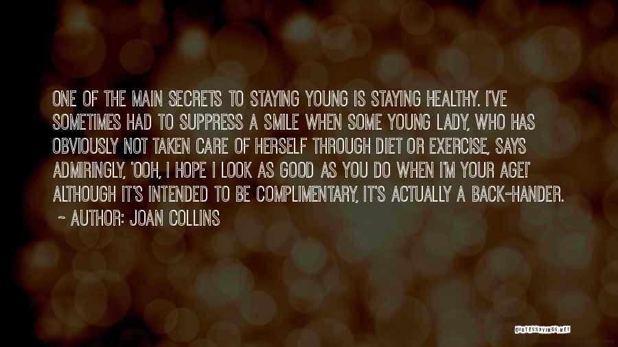 I Care Do You Quotes By Joan Collins