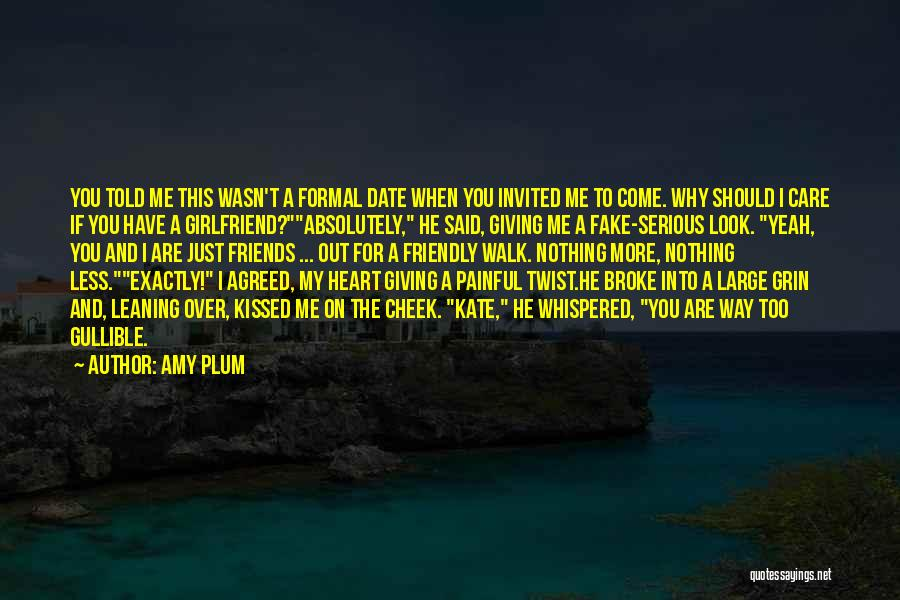 I Care Less Quotes By Amy Plum