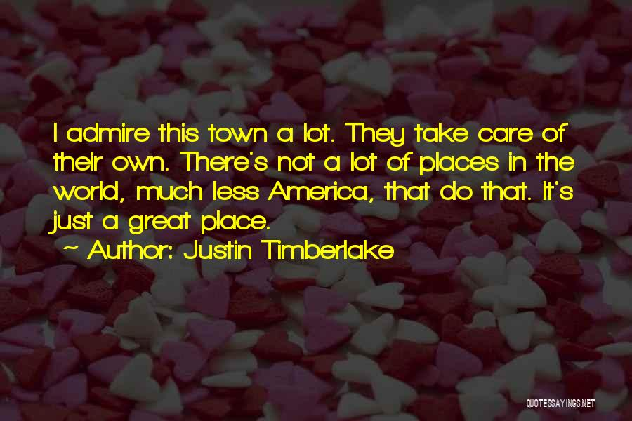 I Care Less Quotes By Justin Timberlake