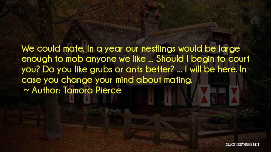 I Could Change Quotes By Tamora Pierce