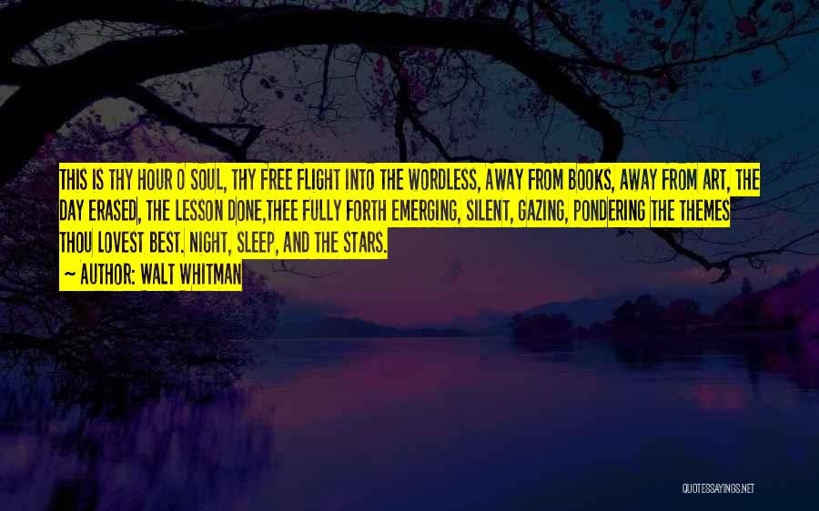 I Could Sleep All Day Quotes By Walt Whitman