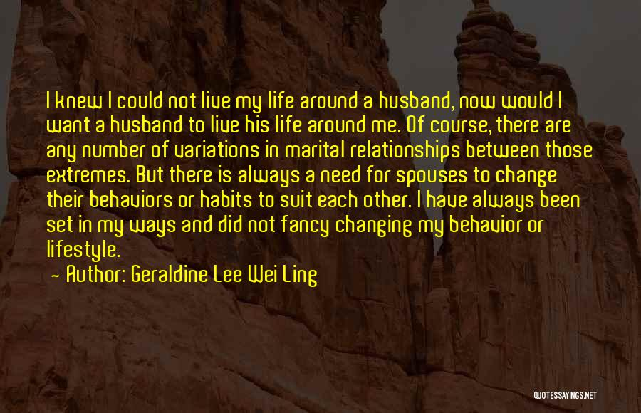 I Did Not Change Quotes By Geraldine Lee Wei Ling
