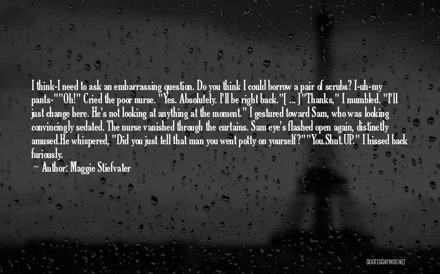 I Did Not Change Quotes By Maggie Stiefvater