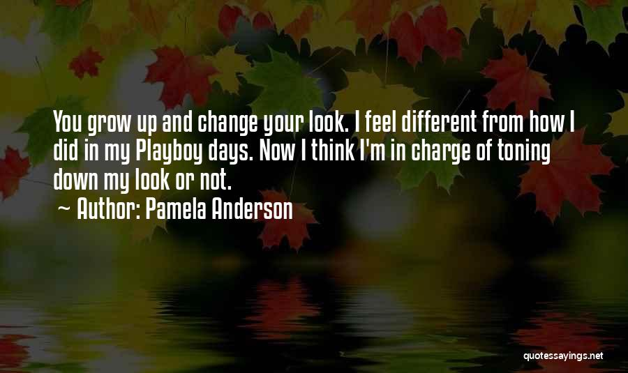 I Did Not Change Quotes By Pamela Anderson