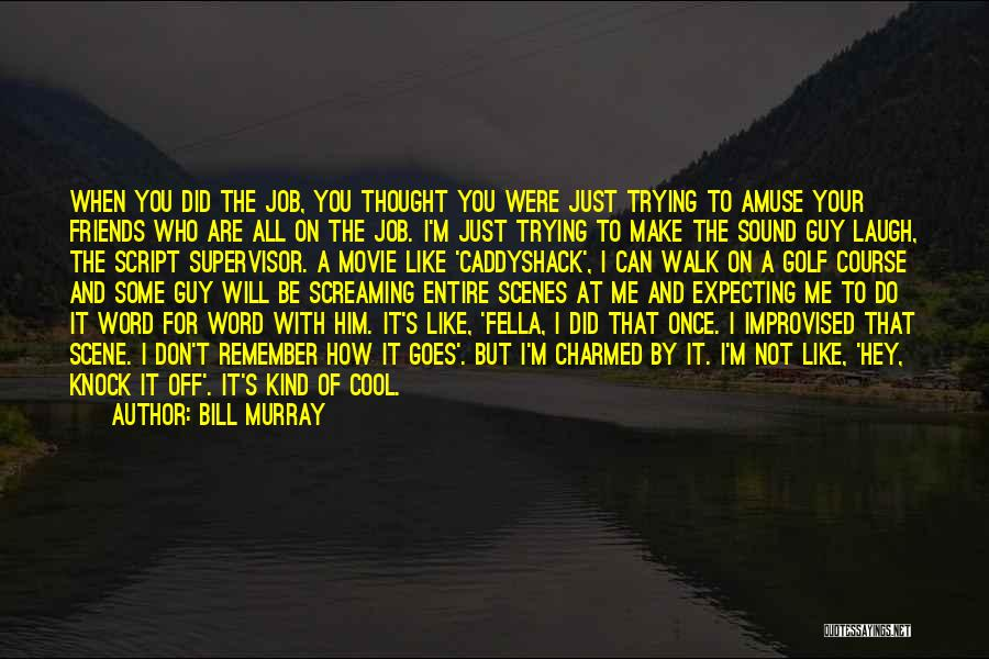 I Do But I Don't Movie Quotes By Bill Murray