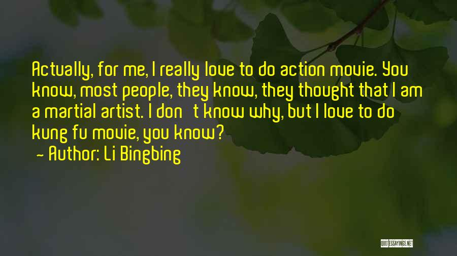 I Do But I Don't Movie Quotes By Li Bingbing