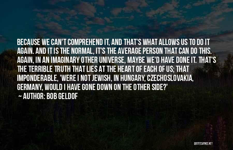 I Do It Because I Can Quotes By Bob Geldof
