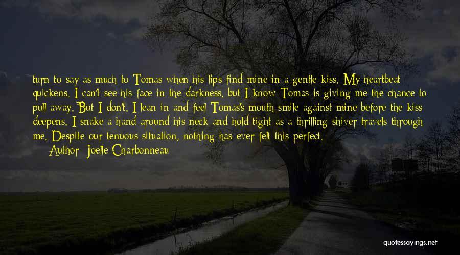 I Don Smile Quotes By Joelle Charbonneau