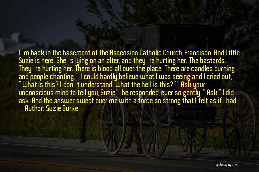 I Don't Believe You Quotes By Suzie Burke