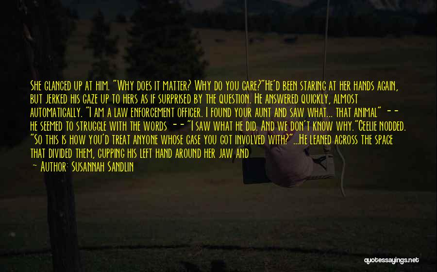 I Don't Care What You Do Quotes By Susannah Sandlin