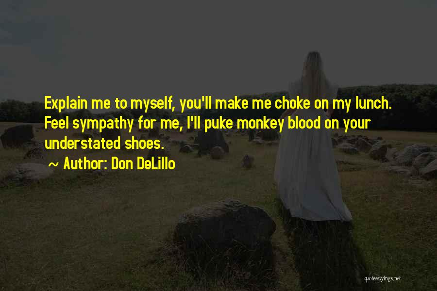 I Don't Explain Myself Quotes By Don DeLillo