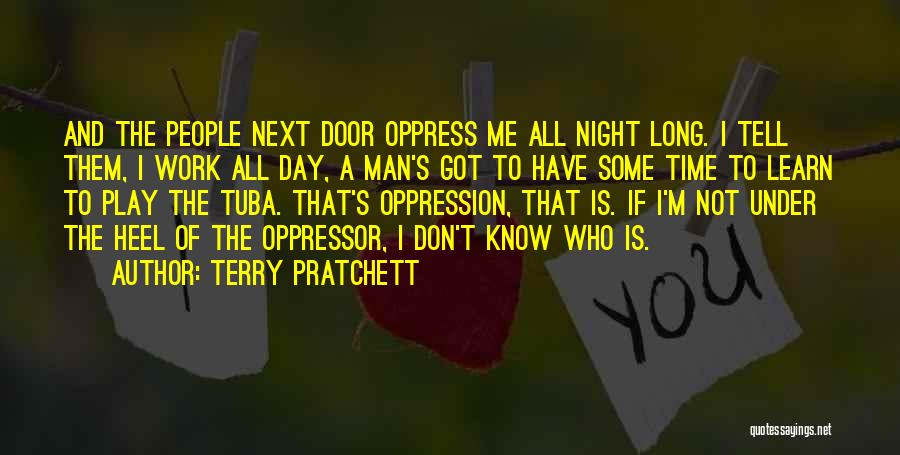I Don't Have Time Quotes By Terry Pratchett