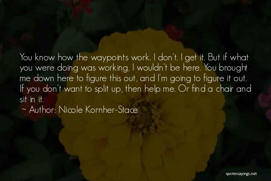 I Don't Know If You Want Me Quotes By Nicole Kornher-Stace
