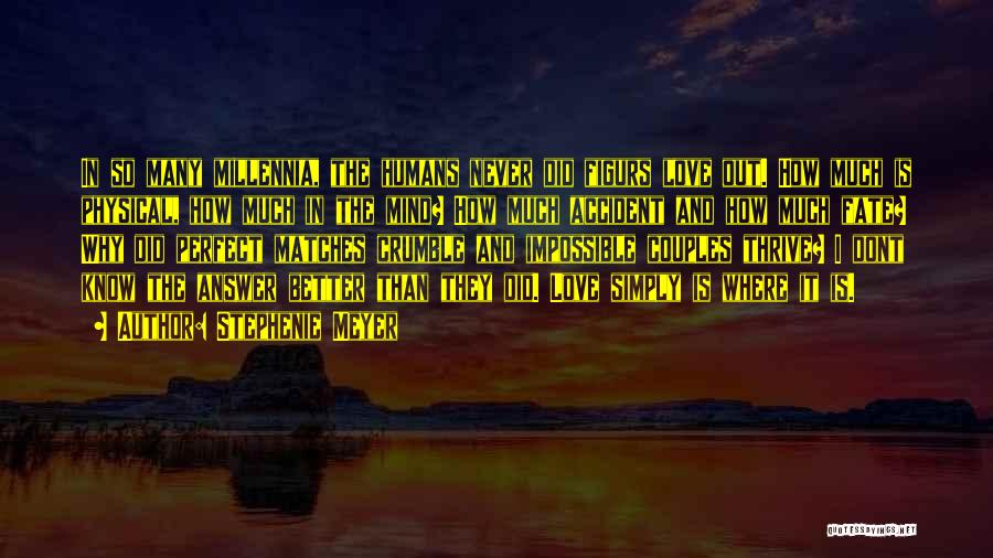 I Dont Know Y I Love U Quotes By Stephenie Meyer