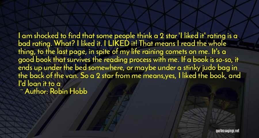 I Don't Like Waiting Quotes By Robin Hobb