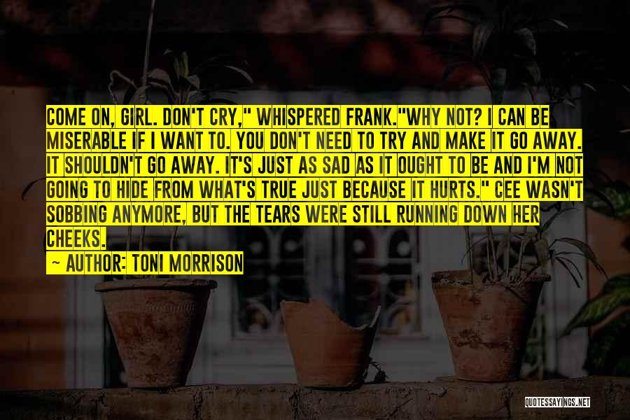 I Don't Need Girl Quotes By Toni Morrison