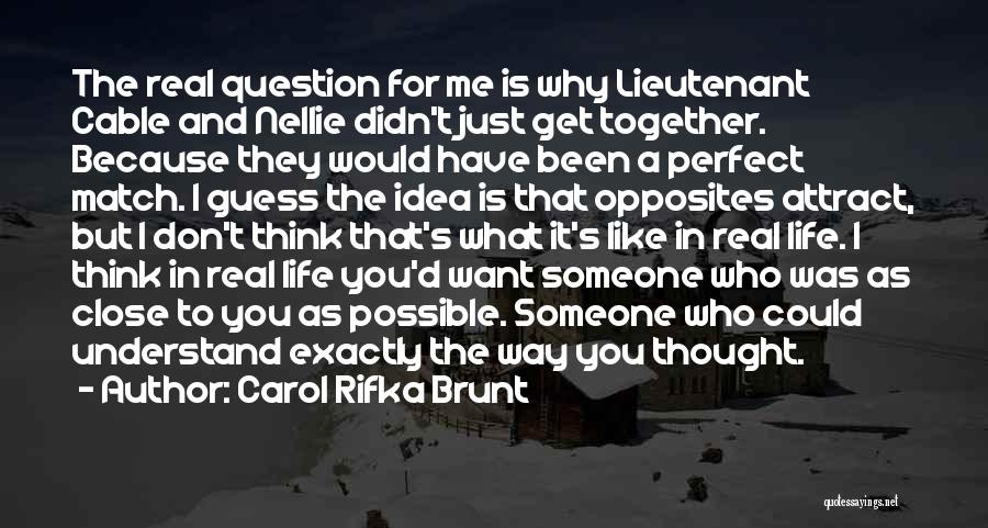 I Don't Understand Life Quotes By Carol Rifka Brunt