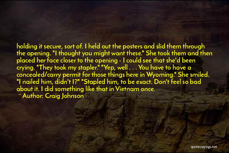 I Don't Want To Be Like Them Quotes By Craig Johnson