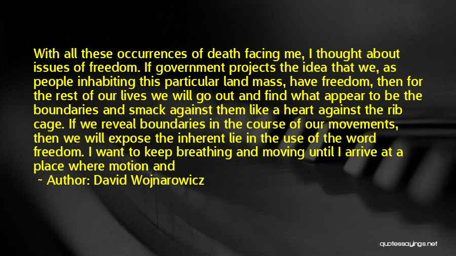I Don't Want To Be Like Them Quotes By David Wojnarowicz