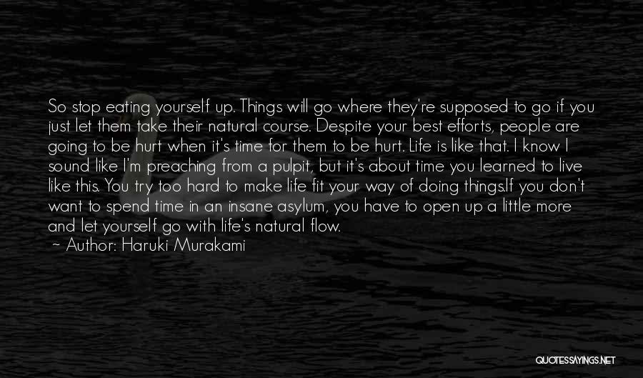 I Don't Want To Be Like Them Quotes By Haruki Murakami