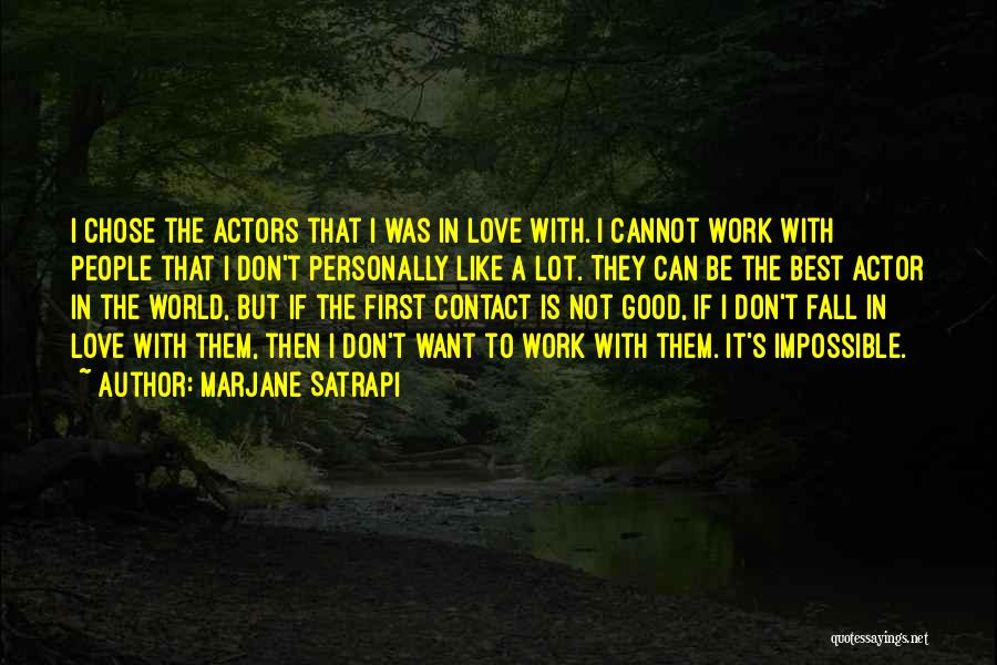 I Don't Want To Be Like Them Quotes By Marjane Satrapi