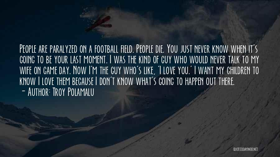 I Don't Want To Be Like Them Quotes By Troy Polamalu