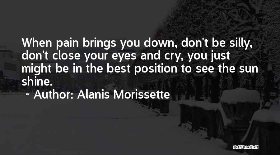 I Don't Want To See You Cry Quotes By Alanis Morissette