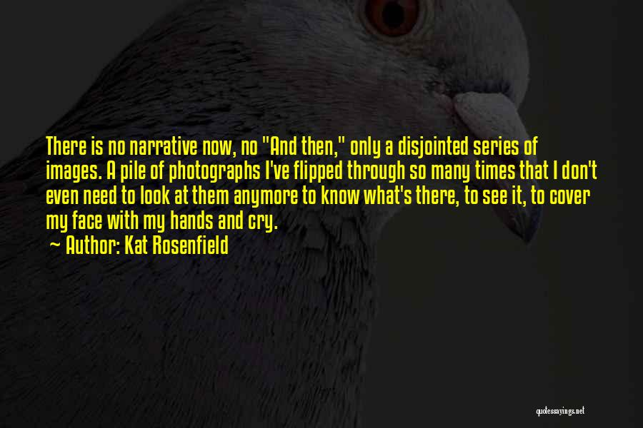 I Don't Want To See You Cry Quotes By Kat Rosenfield