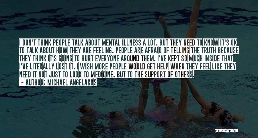 I Feel So Hurt Inside Quotes By Michael Angelakos