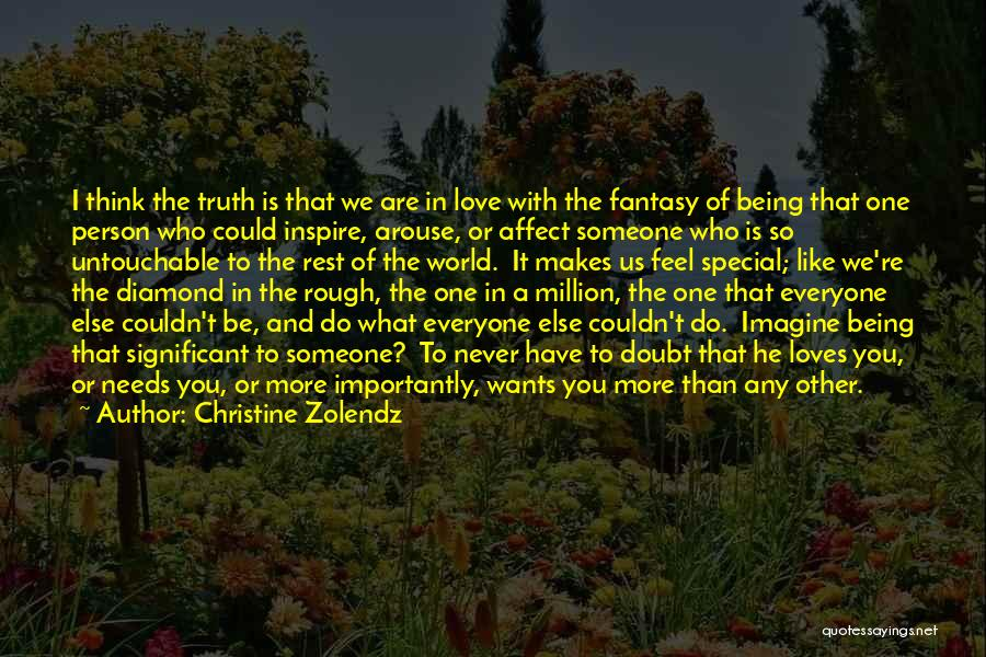 I Feel So In Love With You Quotes By Christine Zolendz