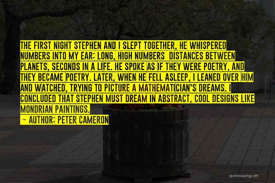 I Fell For You Picture Quotes By Peter Cameron