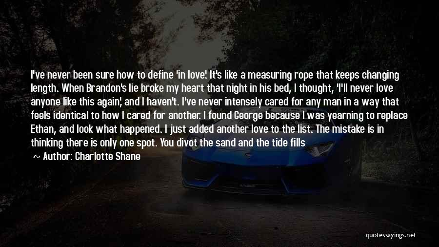 I Found Love Again Quotes By Charlotte Shane