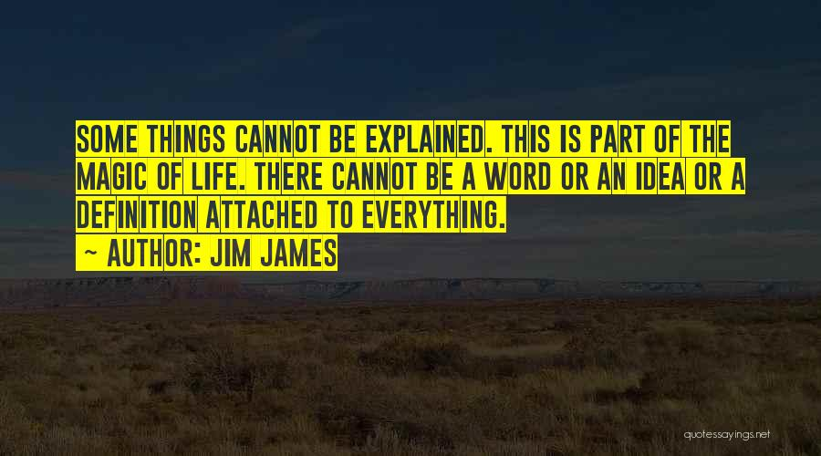 I Get Too Attached Quotes By Jim James