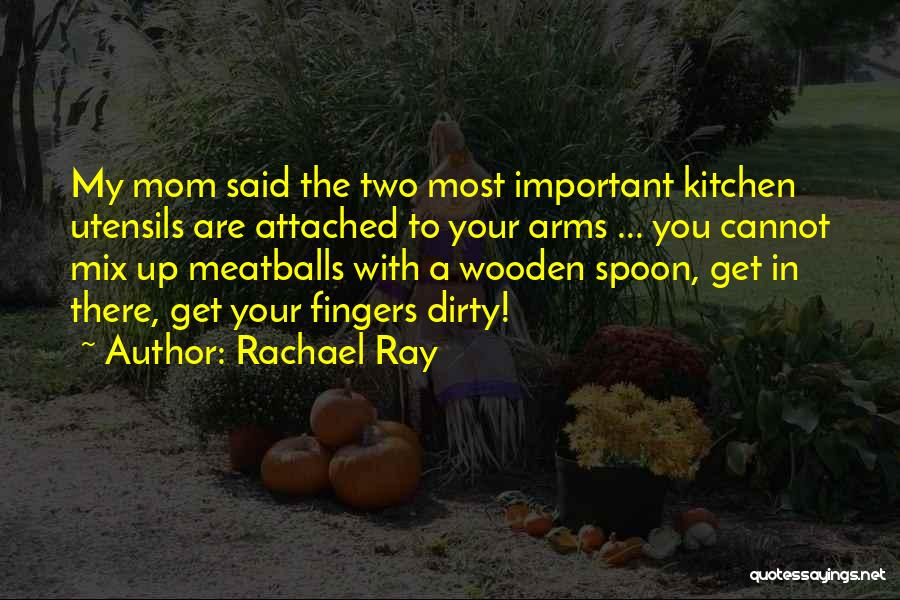 I Get Too Attached Quotes By Rachael Ray
