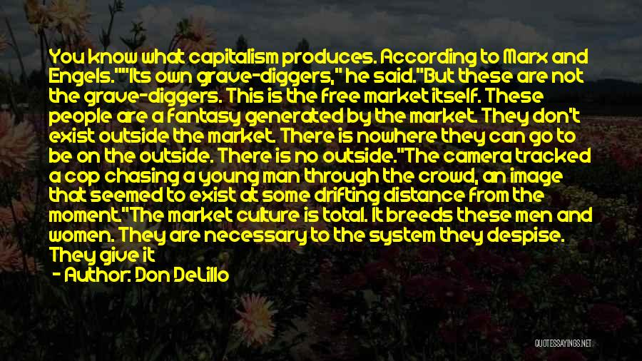 I Give Up Chasing You Quotes By Don DeLillo