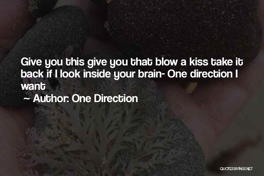 I Give You Take Quotes By One Direction