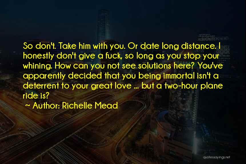 I Give You Take Quotes By Richelle Mead