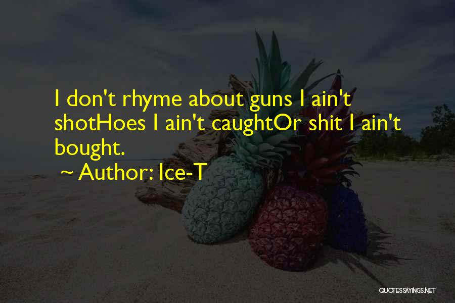 I Got Hoes Quotes By Ice-T