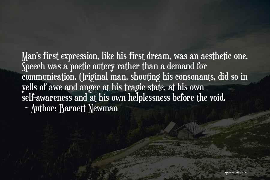 I Had A Dream Speech Quotes By Barnett Newman
