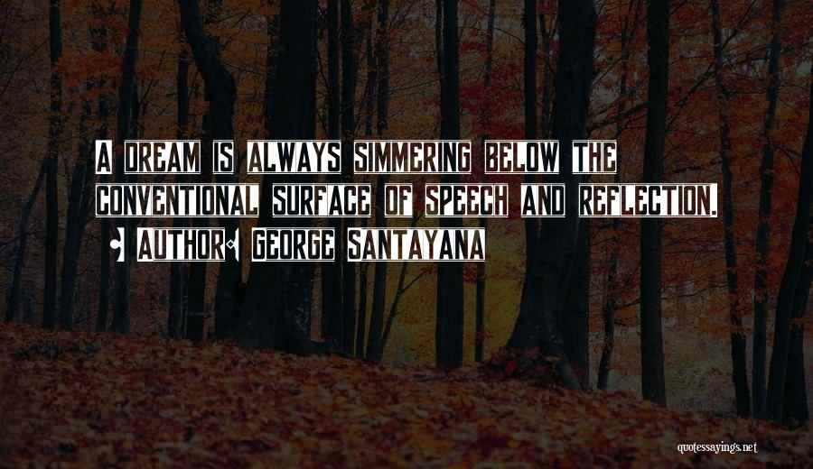 I Had A Dream Speech Quotes By George Santayana