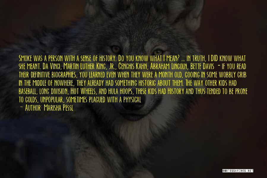 I Had A Dream Speech Quotes By Marisha Pessl