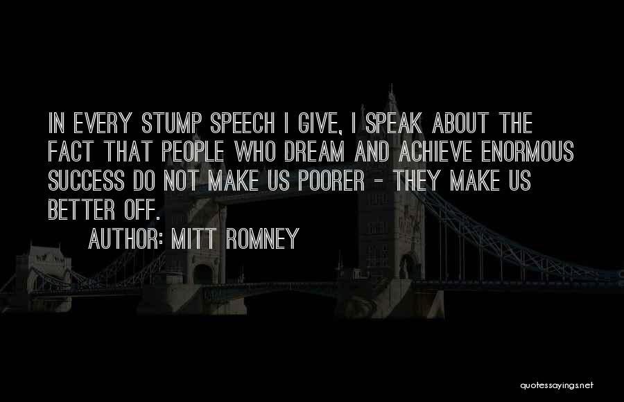 I Had A Dream Speech Quotes By Mitt Romney